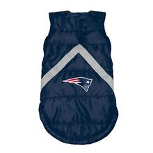New England Patriots Sleeveless Dog Puffer Vest
