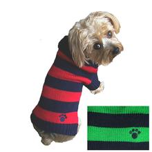 Dallas Dogs Rugby Dog Sweater - Blue and Green