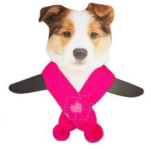Dallas Dogs Sassy Dog Scarf - Pink Hearts