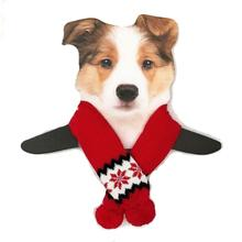 Dallas Dogs Snowflake Dog Scarf