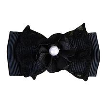 Debbie Dog Bow By Pinkaholic - Black
