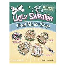 Decorate at Home Ugly Sweater Dog Treat Kit