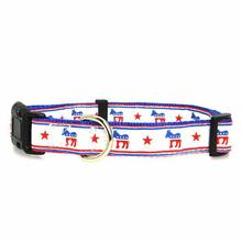 Democratic Party Nylon Dog Collar