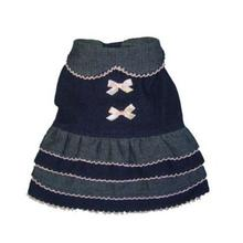 Denim Frill Dog Dress