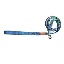 Cloak & Dawggie Dog Leash - Denim Splash