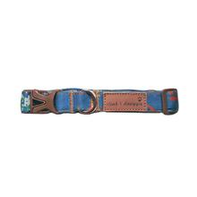 Cloak & Dawggie Dog Collar - Denim Splash