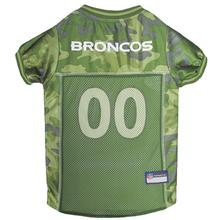 Denver Broncos Dog Jersey - Camo