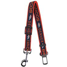 Denver Broncos Dog Seat Belt Strap