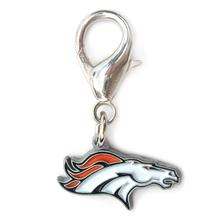 Denver Broncos Logo Dog Collar Charm