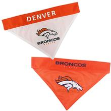 Denver Broncos Reversible Dog Bandana Collar Slider