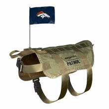 Denver Broncos Tactical Vest Dog Harness