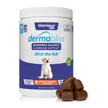 Dermabliss Seasonal Allergy & Immune Support Soft Dog Chews - Hickory Salmon