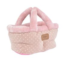 Desarae Basket Dog Bed By Pinkaholic - Pink