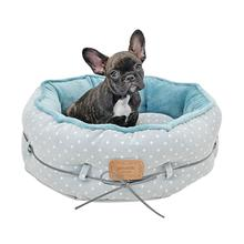 Desarae Dog Bed By Pinkaholic - Blue Grey