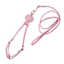Designer Charm Step-In Harness by Hip Doggie - Pink