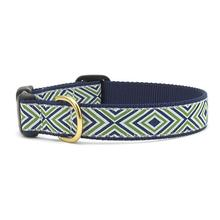 Diamond Stripe Dog Collar by Up Country