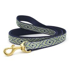 Diamond Stripes Dog Leash by Up Country
