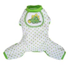 Dino Dog Pajamas - Green