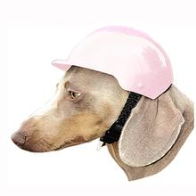Dog Bike Helmet - Pink