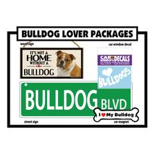 Dog Breed Gift Box - Bulldog
