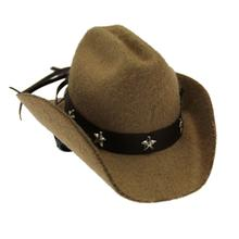Dog Cowboy Hat - Tan Felt