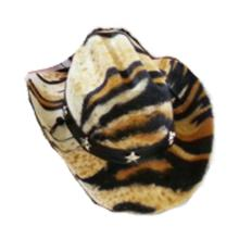 Dog Cowboy Hat - Tiger Felt