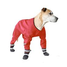 Muttluks Dog Rainsuit - Red