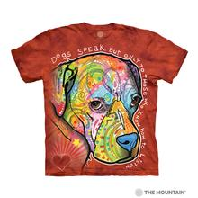 Dog Speak Human T-Shirt by The Mountain