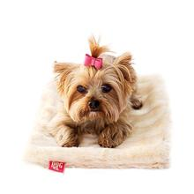 The Dog Squad Luxury Faux Fur Crate Liner - Caramel Mink