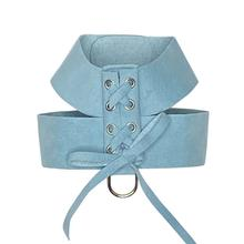 The Dog Squad Parisian Corset Dog Harness - Horizon Blue
