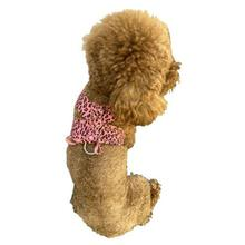 The Dog Squad Parisian Corset Dog Harness - Pink Cheetah