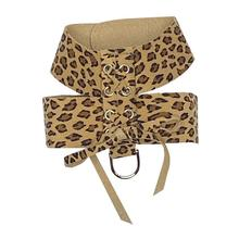 The Dog Squad Parisian Corset Dog Harness - Cheetah