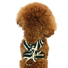The Dog Squad Parisian Corset Dog Harness - Zebra