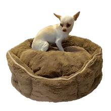Shell Dog Bed by The Dog Squad - Mocha
