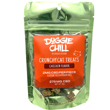 Doggie Chill Grain-Free CBD Crunchy Cat Treats - Chicken