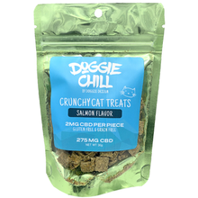 Doggie Chill Grain-Free CBD Crunchy Cat Treats - Salmon