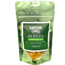 Doggie Chill Grain-Free CBD Dog Biscuits by Doggie Design - Cheddar Cheese