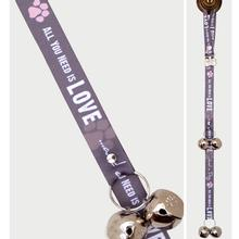 Doggie Dialogue Poochie Bells Dog Doorbell - All You Need is Love and a Dog