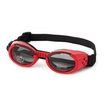 Doggles - ILS2 Shiny Red Frame with Smoke Lens