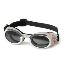 Doggles - ILS2 Silver Skull Frame with Light Smoke Lens