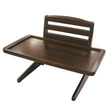 Doggy Dining Tray V1 Dog Diner - Rich Mahogany