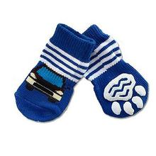 Doggy Socks - Blue Car
