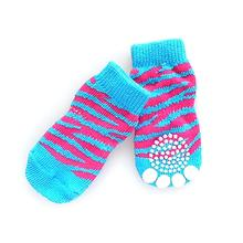 Doggy Socks - Mod Pink & Blue