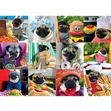 Doug the Pug Puzzle for Humans - Pug Life