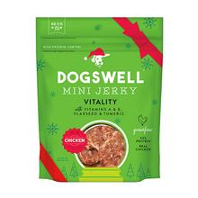 Dogswell Vitality Holiday Minis Jerky Dog Treat - Chicken