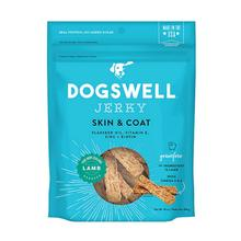 Dogswell Skin and Coat Jerky Dog Treat - Lamb