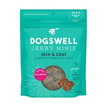 Dogswell Skin and Coat Jerky Minis Dog Treat - Salmon