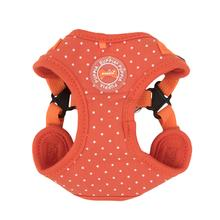 Dotty Adjustable Step-In Dog Harness by Puppia - Orange