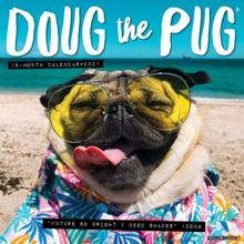 Doug the Pug 2021 Wall Calendar