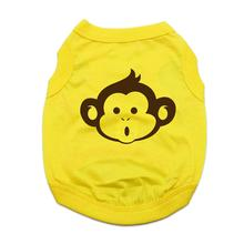 Monkey Dog Shirt - Yellow